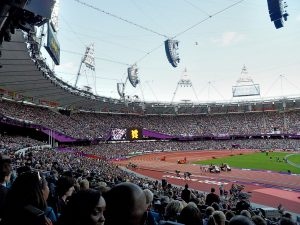 Olympiastadion von 2012 in London